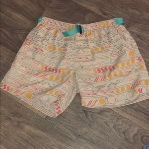 Chubbies Geometry Print Safari Shorts